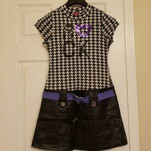 Pinky Girls Dress Size M (10-12)